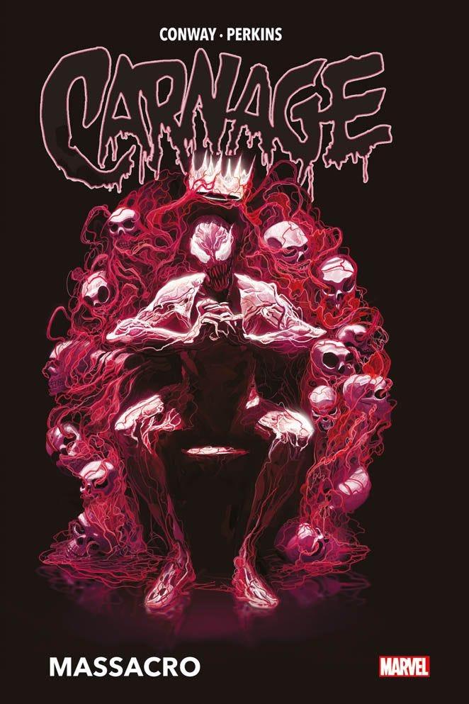 Carnage: Massacro, copertina