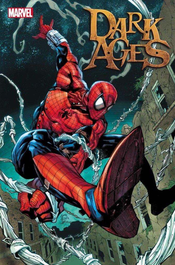 Dark Ages #2, variant cover di Ryan Stegman