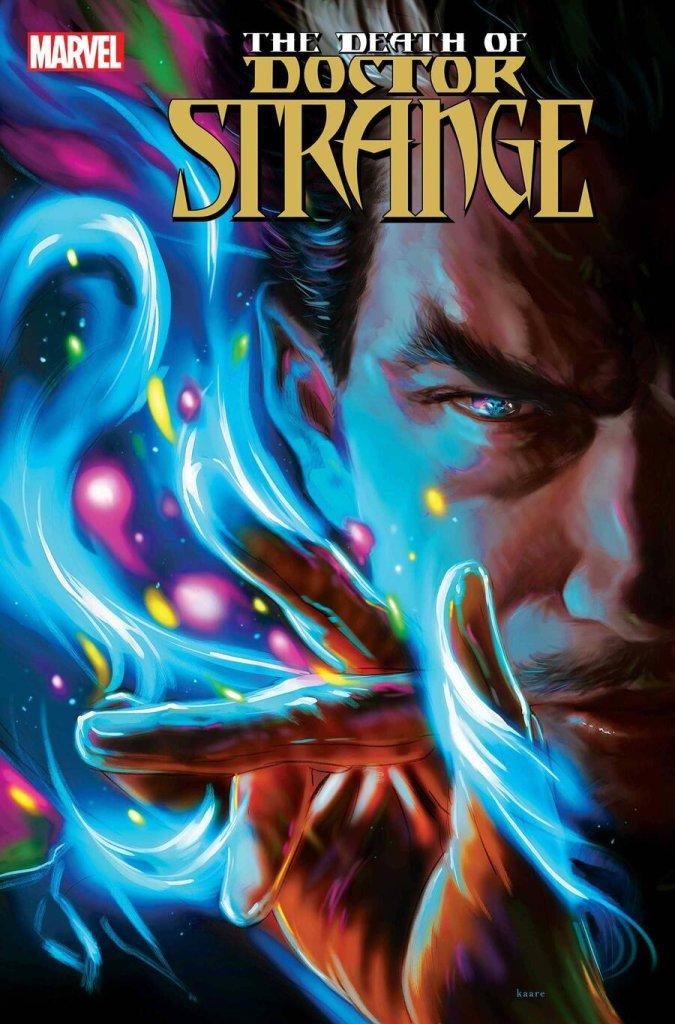Death of Doctor Strange #5, copertina di Kaare Andrews