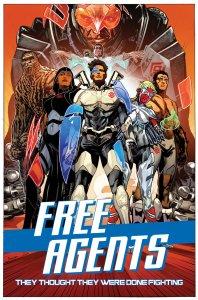 Free Agents #1, copertina d Stephen Mooney