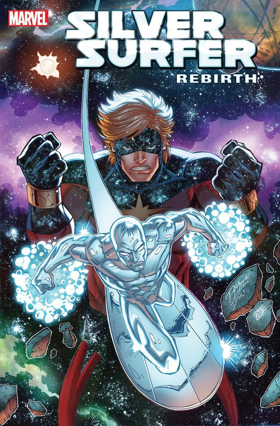 Silver Surfer: Rebirth #1, copertina di Ron Lim