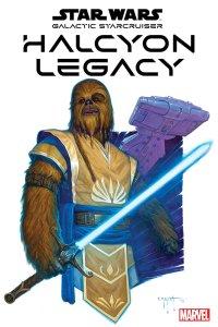 Star Wars: Halcyon Legacy #1, copertina di E.M. Gist