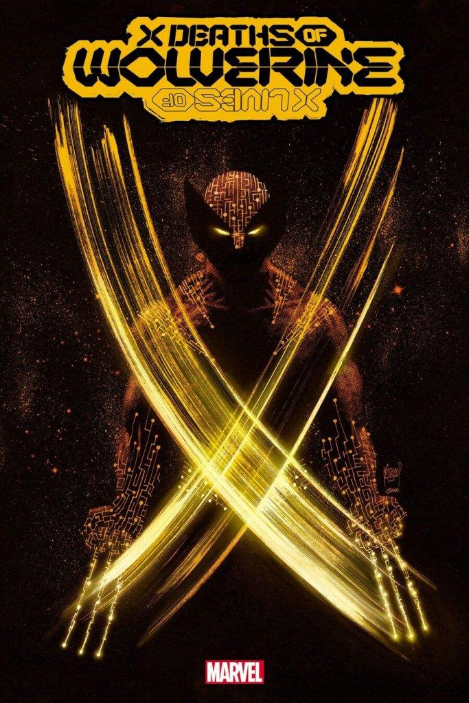 X Deaths of Wolverine #1, copertina di Adam Kubert