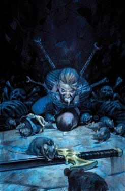 Black Knight #5, copertina di Julian Totino Tedesco