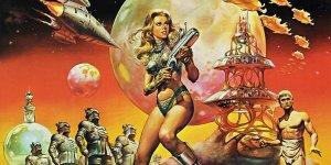 Barbarella - il poster del film