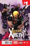 Wolverine and the X-Men #1 cover by Mahmud A. Asrar