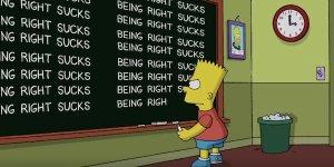 I Simpson banner