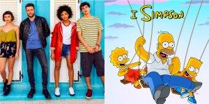 Disney Netflix Summertime e I Simpson i titoli del momento