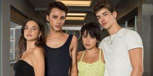 Elite 4 Manu Rios, Carla Diaz, Martina Cariddi Pol Granch cast
