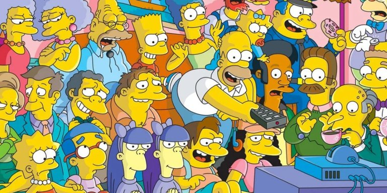 i simpson serie tv fox sigla banner slide
