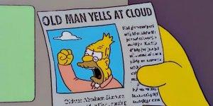 Un meme dei Simpson è diventato virale durante il dibattito presidenziale della scorsa notte
