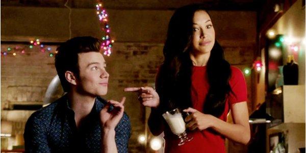 Glee - Naya Rivera e Chris Colfer