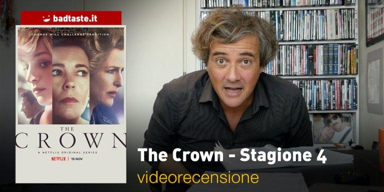 The Crown quarta stagione videorecensione