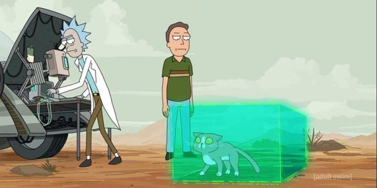 Rick and Morty - Gatto parlante