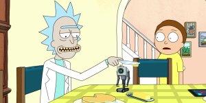 Rick and Morty robot burro