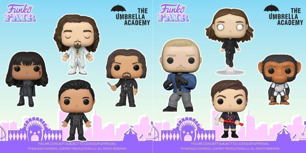 The Umbrella Academy Funko Pops