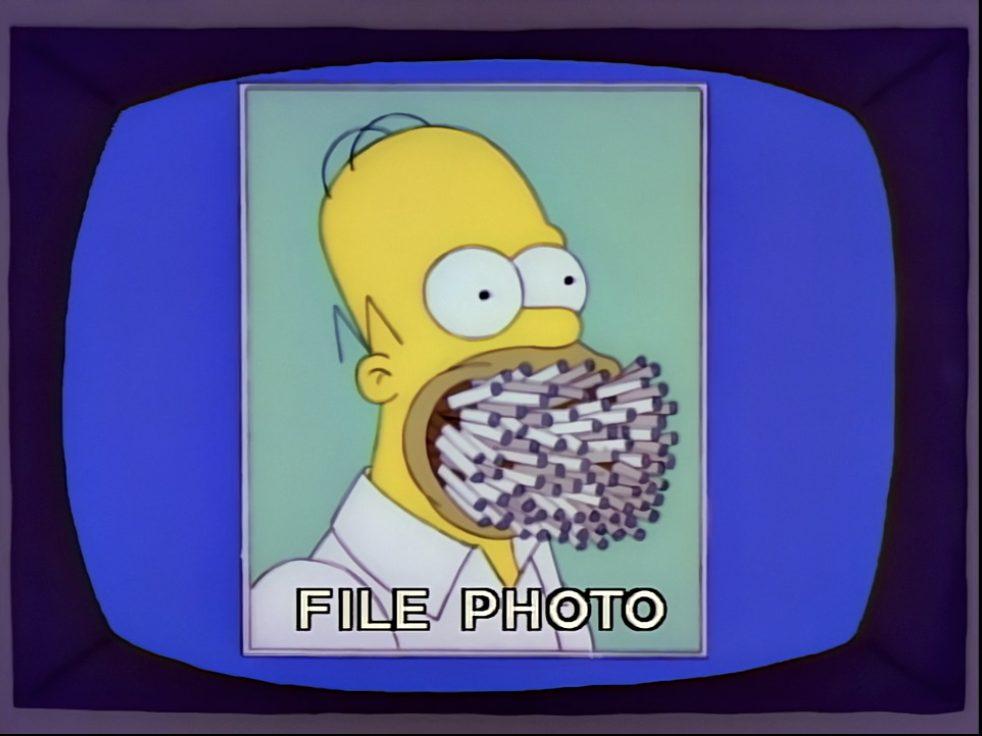Simpson sigarette