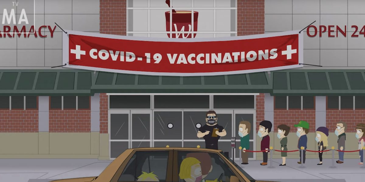 South Park Vaccination special uscita
