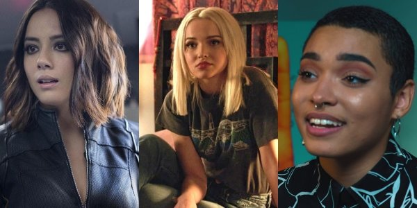 The Powerpuff Girls Le Superchicche Chloe Bennet, Dove Cameron Yana Perrault