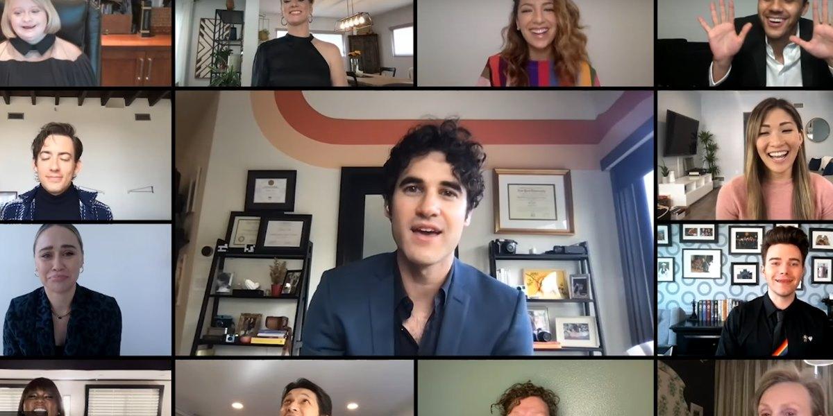 Glee: il video del tributo a Naya Rivera realizzato dal cast della serie per i GLAAD Media Awards