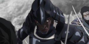 Yasuke guarda il trailer della nuova serie animata Netflix