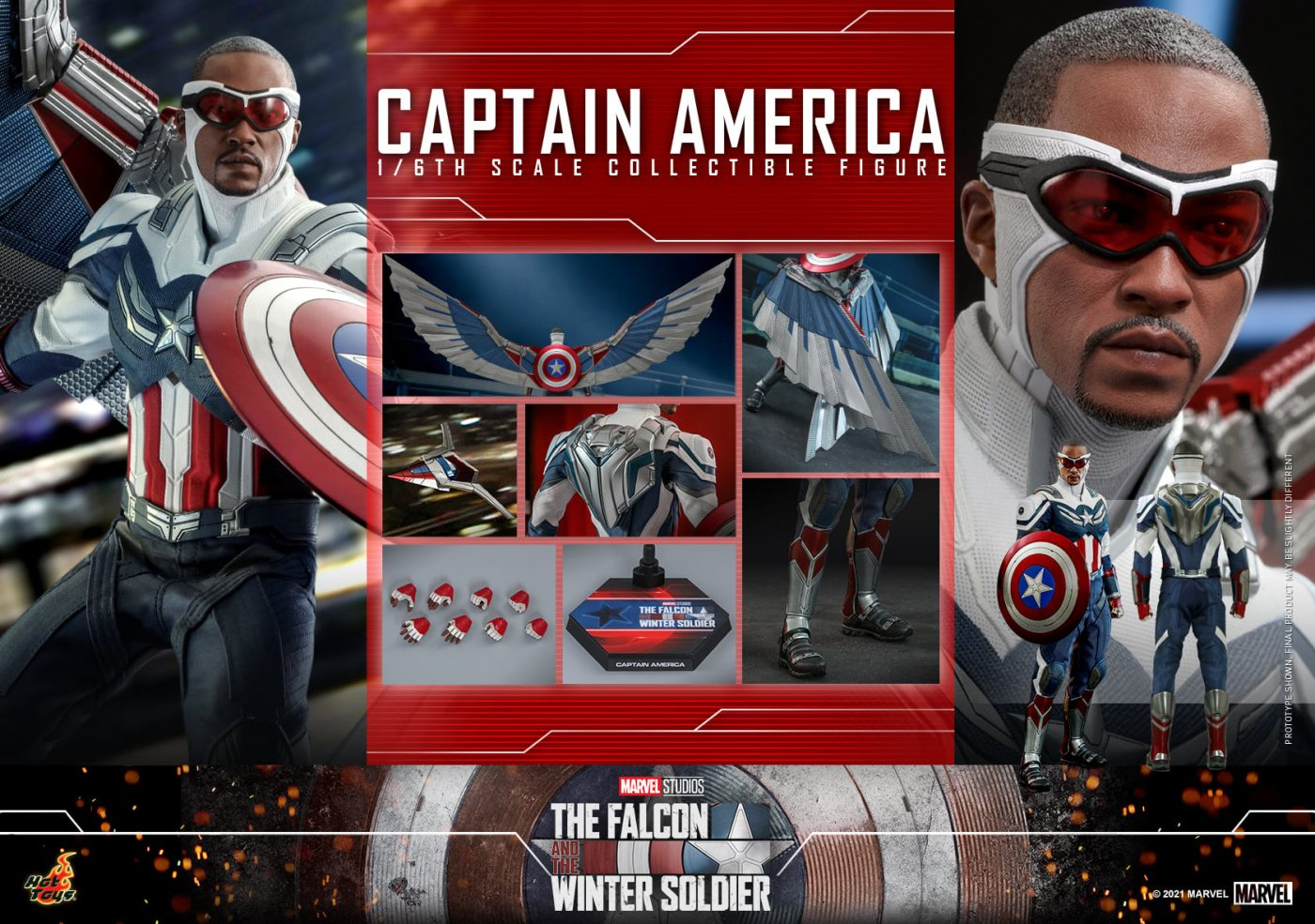 The Falcon and the Winter Soldier - Captain America - Hot Toys