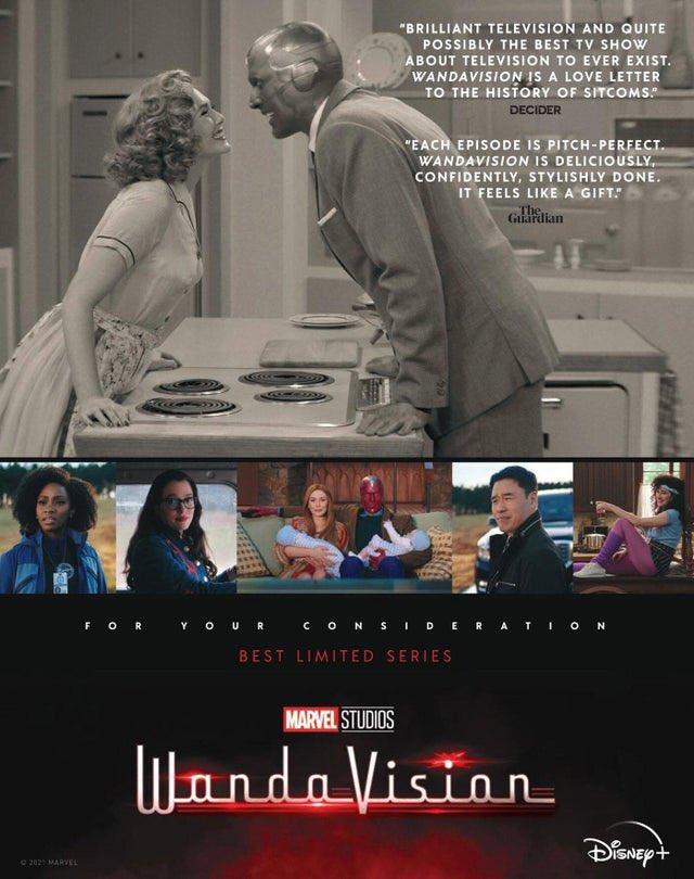 WandaVision poster delle candidature Emmy
