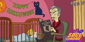 simpson vincent price halloween