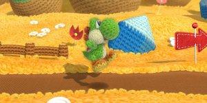 Yoshi's Woolly World megaslide
