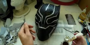 Banner Black Panther Mask