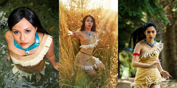 Banner Cosplay Pocahontas
