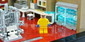 Banner LEGO Breaking Bad