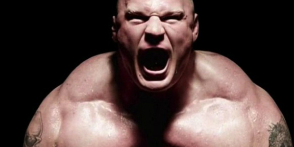 WWE 2K17 Brock Lesnar banner