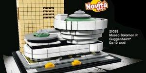 Banner Lego Guggenheim Museum