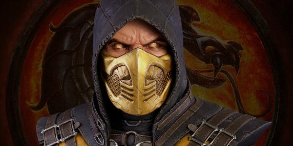 Banner Scorpion Mortal Kombat