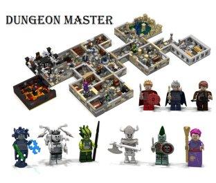 LEGO Ideas Dungeon Master