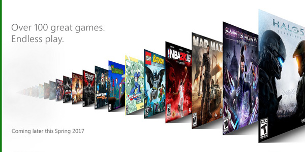 Xbox Game Pass banner