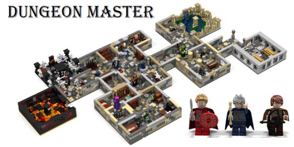 Banner LEGO Ideas Dungeon Master