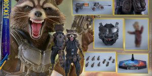 Banner Rocket Raccon Guardiani della Galassia Vol. 2 Hot Toys