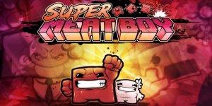 Super Meat Boy banner