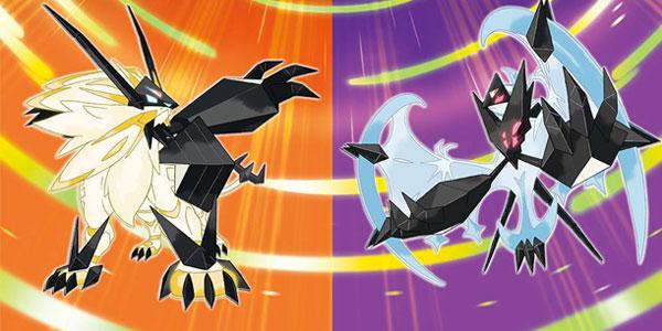Pokémon Ultrasole e Pokémon Ultraluna banner