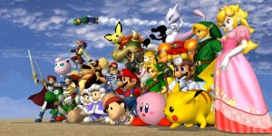 Super Smash Bros. megaslide