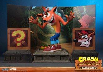 Crash Bandicoot First 4 Figures