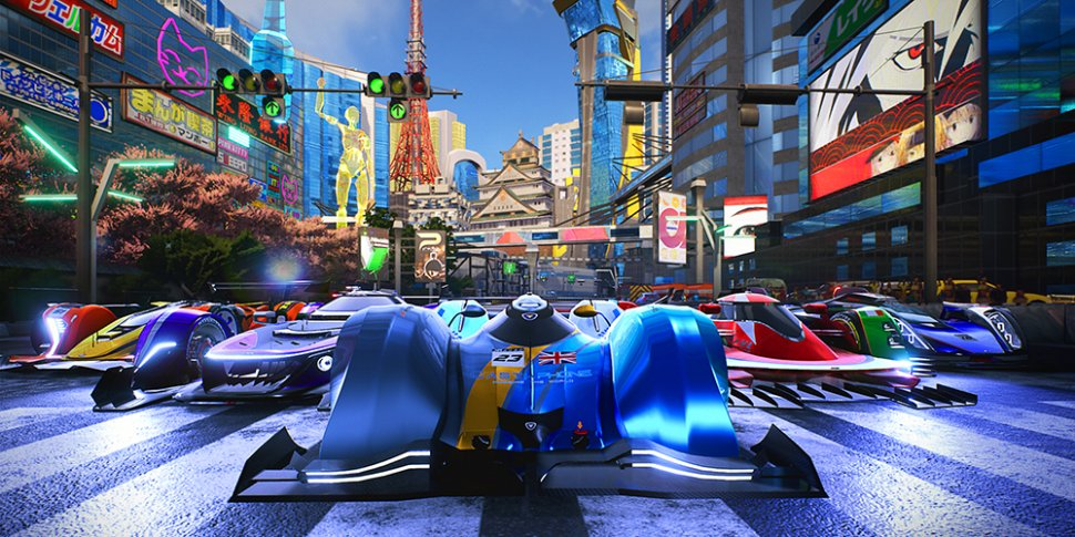 Xenon Racer megaslide