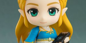 The Legend of Zelda: Breath of the Wild Nendoroid Zelda banner