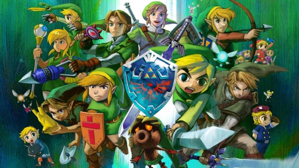 The Legend of Zelda Artwork