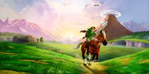 The Legend of Zelda Ocarina of Time banner