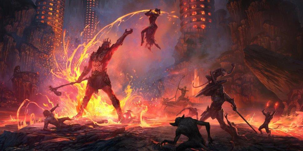 The Elder Scrolls Online Flames of Ambition banner