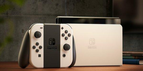 Nintendo Switch OLED banner