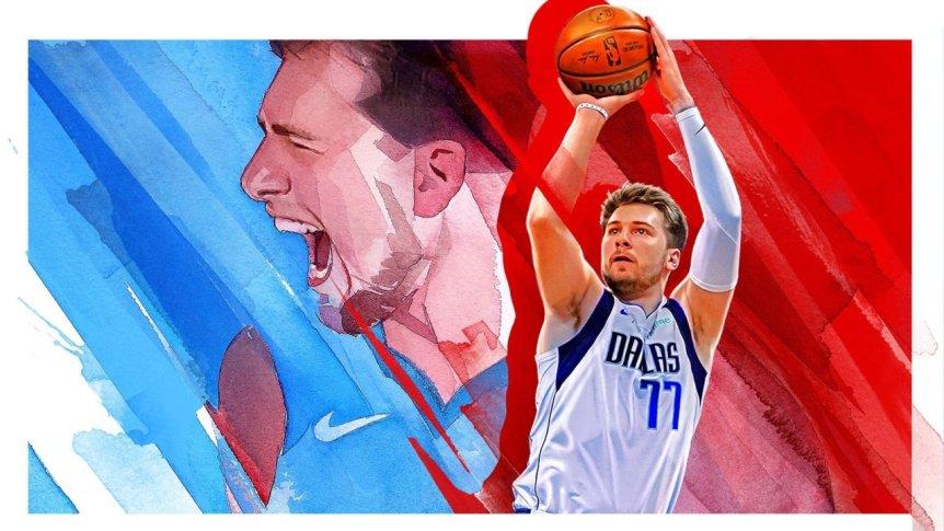 NBA 2K22 banner